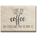 Jillibean Soup - Wood Mounted Stamps - More Than Coffee