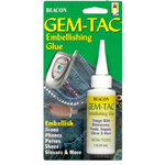 Beacon Adhesives - Gem-Tac Embellishing Glue - 2 Ounces