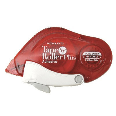Kokuyo - Tape 'n' Roller Plus - Refillable - Permanent Adhesive Roller