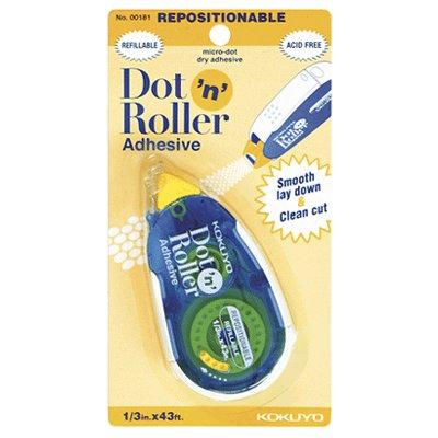 Kokuyo - Dot n Roller Adhesive - Repositionable