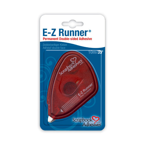 3L - Scrapbook Adhesives - E-Z Runner Permanent Tape - 33 feet