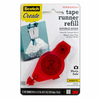 Scotch - Adhesive Dot Roller - Permanent - Dots Roller Refill - 49 Feet