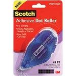 Scotch - Adhesive Dot Roller Dispenser - Permanent - 49 Feet