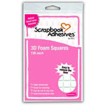 3L Scrapbook Adhesives - 3D Foam Squares - National Breast Cancer Awareness, CLEARANCE