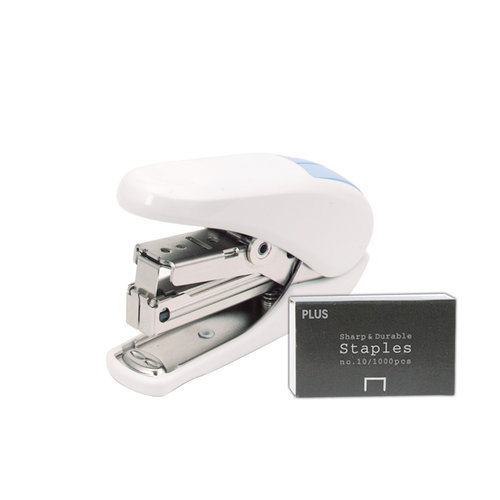 Plus Corporation - No. 10 Power-Assisted Stapler - White