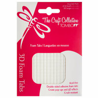 Tombow - The Craft Collection - Adhesive Foam Tabs - Permanent - Squares