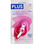 Plus Corporation - Double Sided Glue Tape - Honeycomb Dot - Refill - Permanent