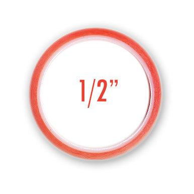J and V Enterprises - Premium Red Line Craft Tape - 1/2 inch x 5 yards
