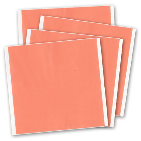 J and V Enterprises - Premium Red Line Adhesive Craft Sheet - 6 x 6 sheet - 4 Pack