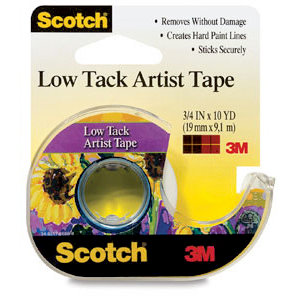 Sctoch - Artist Tape - Low Tack
