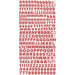 Kaisercraft - Alphabet Stickers - Red