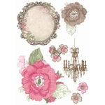 Kaisercraft - Chanteuse Collection - Printed Chipboard