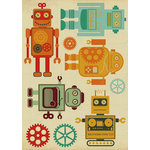 Kaisercraft - Technologic Collection - Printed and Layered Chipboard