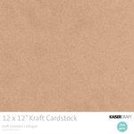 Kaisercraft - 12 x 12 Cardstock Pack - Kraft - 20 pack
