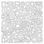 Kaisercraft - Kaisercolour - Card - Gems