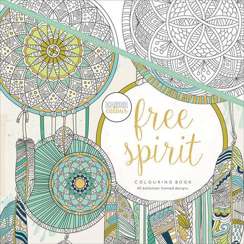 Kaisercraft - Kaisercolour - Coloring Book - Free Spirit