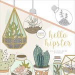 Kaisercraft - Kaisercolour - Coloring Book - Hello Hipster