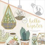 Kaisercraft - Kaisercolour - Coloring Book - Hello Hipster