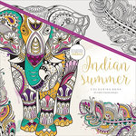 Kaisercraft - Kaisercolour - Coloring Book - Indian Summer