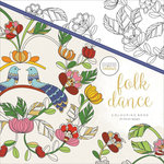 Kaisercraft - Kaisercolour - Coloring Book - Folk Dance