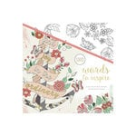 Kaisercraft - Kaisercolour - Coloring Book - Words to Inspire