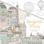 Kaisercraft - Kaisercolour - Coloring Book - Bonjour Paris