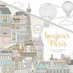 Kaisercraft - Kaisercolour - Coloring Book - Bonjour Paris