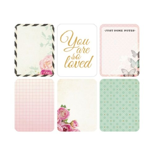 Kaisercraft - Captured Moments Collection - 3 x 4 Double Sided Journal Cards - Sparkle