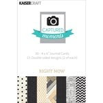 Kaisercraft - Captured Moments Collection - 4 x 6 Double Sided Journal Cards - Right Now