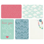 Kaisercraft - Captured Moments Collection - 4 x 6 Double Sided Journal Cards - Hello Baby