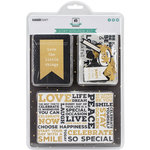 Kaisercraft - Captured Moments Collection - Journal Card Kit - Stay Golden