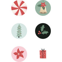 Kaisercraft - Christmas - Peppermint Kisses Collection - Curios