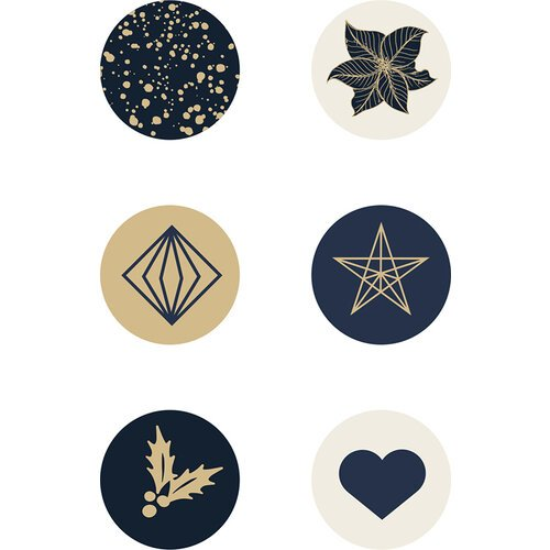 Kaisercraft - Christmas - Starry Night Collection - Curios