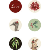 Kaisercraft - Christmas - Under The Gum Leaves Collection - Curios
