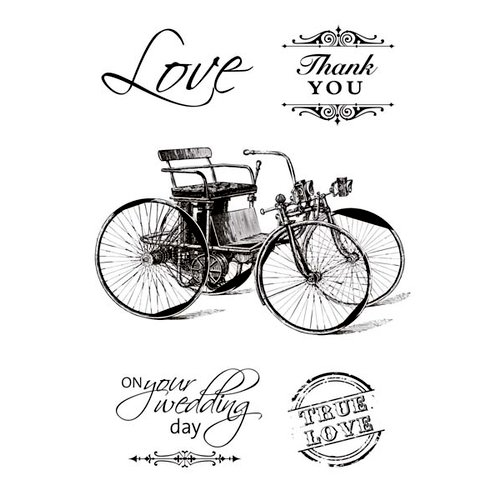 Kaisercraft - On This Day Collection - Clear Acrylic Stamp