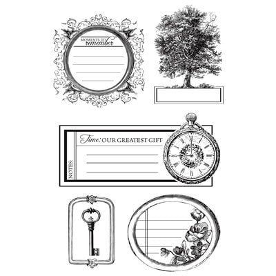 Kaisercraft - Heirloom Collection - Clear Acrylic Stamp
