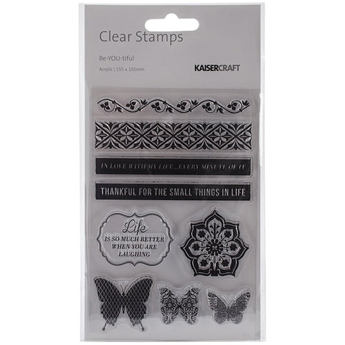 Kaisercraft - Be-YOU-tiful Collection - Clear Acrylic Stamp