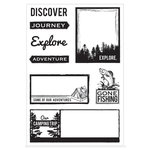 Kaisercraft - Outdoor Trail Collection - Clear Acrylic Stamp