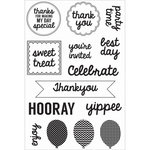 Kaisercraft - Pop Collection - Clear Acrylic Stamps - Treats