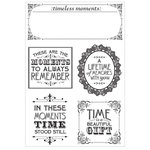 Kaisercraft - Betsy's Couture Collection - Clear Acrylic Stamps