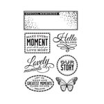 Kaisercraft - All That Glitters Collection - Clear Acrylic Stamps