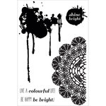 Kaisercraft - Chase Rainbows Collection - Clear Acrylic Stamps