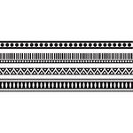 Kaisercraft - Fiesta Collection - Texture - Clear Acrylic Stamp - Aztec