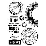 Kaisercraft - Time Machine Collection - Clear Acrylic Stamps