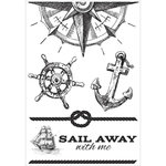Kaisercraft - Sail Away Collection - Clear Acrylic Stamps