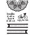 Kaisercraft - Finders Keepers Collection - Clear Acrylic Stamps