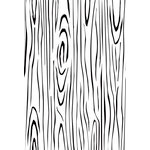 Kaisercraft - Clear Acrylic Stamps - Background - Woodgrain