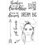 Kaisercraft - Boho Dreams Collection - Clear Acrylic Stamps