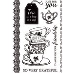 Kaisercraft - High Tea Collection - Clear Acrylic Stamps