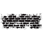 Kaisercraft - Texture - Clear Acrylic Stamp - Brick Wall